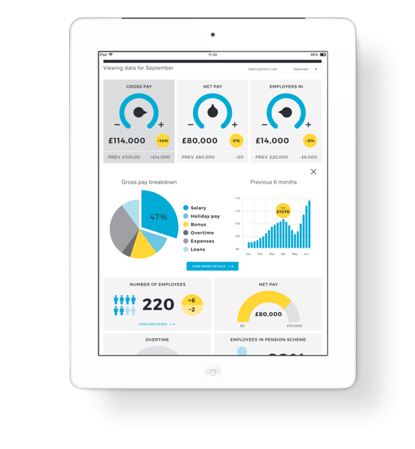 DASHBOARDS - INHOUSE PAYROLL