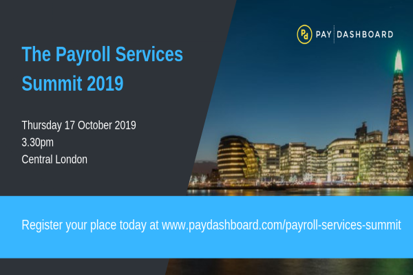 The Payroll Services Summit launches October 2019
