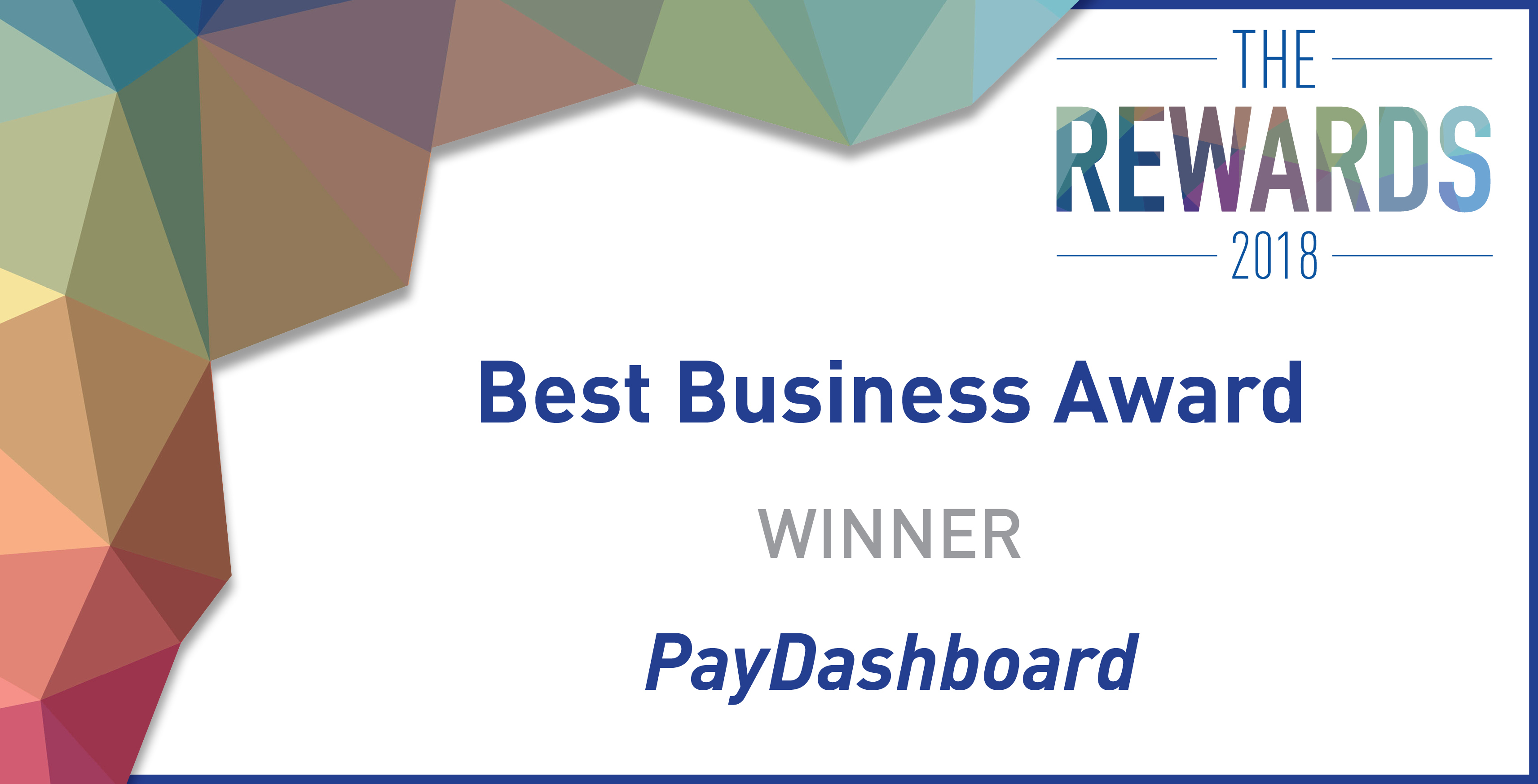 PayDashboard wins Best Business Award