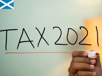 New Tax Year 2021 - General employee guides: Scotland