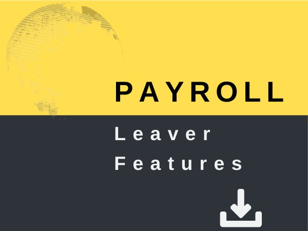Leaver features - processing leavers with PayDashboard