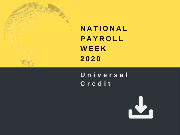 National Payroll Week 2020 - Universal Credit
